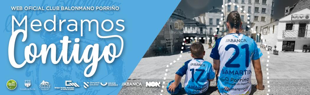 Web Oficial Club Balonmano Porriño